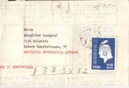 Postcard 1978 - Peru