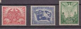 Australia, 1946, SG 213 - 215, Complete Set Of 4, MNH - 1937-52 George VI