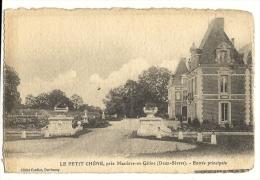 Cp, 79, Près Mazières-en-Gâtine, Le Petit Chêne, Entrée Principale - Mazieres En Gatine
