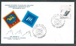 1977 SAN MARINO BUSTA SPECIALE USFI - RD15 - FDC