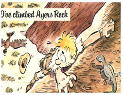 (155) Australia - NT - Ayers Rock Climb - Uluru & The Olgas