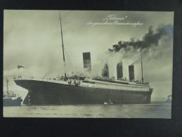 Titanic der gesunkene Oceandampfers