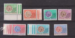 FRANCE / 1964-1969 / Y&T Préo N° 123/129 ** : Monnaie Gauloise (7 TP) - Gomme D´origine Intacte - 1964-1988