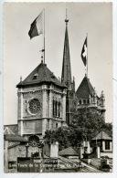 Suisse - Genêve : Les Tours De La Cathédrale Saint Pierre - N°7038 éd Jaeger Dentelée - GE Geneva