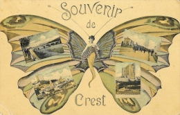 Souvenir De Crest - Multivues - Collection Artistique Lux - Crest