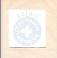 Vitrophanie J´aide Médecins Du Monde. - Autocollants