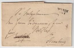 """Mecklenb. , 1840, """" WARIN """" , #1016 - Mecklenburg-Schwerin"""