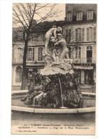 """C P A----65---TARBES---monument Mathet---"""" L´inondation """" ---voir 2 Scans - Tarbes"""