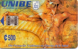 USED PHONE CARDS  COSTA RICA   UNIBE