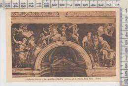 Chiese Cattedrali Roma Chiesa Di S. Maria Della Pace Raffaello Sanzio Le Quattro Sibille  Fot. Alinari - Kirchen U. Kathedralen