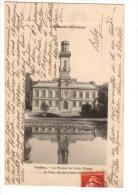 C P A---65----TARBES---le Muséum Du Jardin Massey-la Tour Vue De La Pièce D´eau-----voir 2 Scans - Tarbes