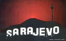 Lot De 9 Cartes Postales  - Conflit De L'ex Yougoslavie - Sarajevo - Correspondance Au Dos D'un Militaire Casque Bleu - Militaria