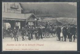 - CPA 88 - La Schlucht, Frontière Au Col - Autres Communes