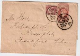 GB, 1880, Ausland-Streifband  , #1025 - Briefe U. Dokumente