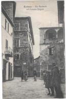TOSCANA-SIENA-SARTEANO VIA GARIBALDI PALAZZO GALGANI PRIMI 900 ANIMATA - Italia