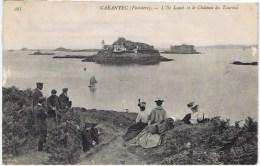 Cpa  CARANTEC L Ile Louet Et Le Chateau Du Taureau - Carantec