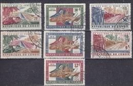 Congo 1963 European Development Aid 7v Used Cto (18702) - Europa-CEPT