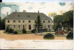 AUTRICHE - SCHONBRUNN  -  Nebengebaude Im Parke Mit Seelowen Bassin - Château De Schönbrunn