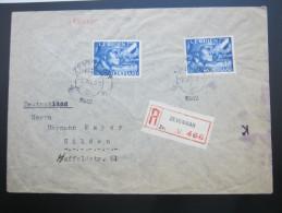 1942, Legioen , Registered Letter , Zensuur - Periode 1891-1948 (Wilhelmina)