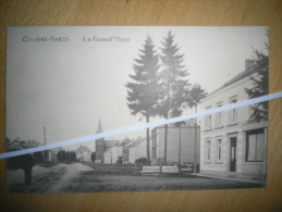 CUL-DES-SART _ La Grand'place - Cul-des-Sarts