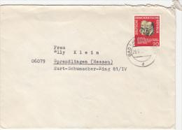 LENIN, KARL MARX, STAMP ON COVER, 1965, GERMANY - [6] Oost-Duitsland