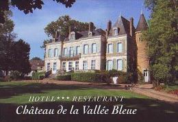 Saint Chartier   H34          Hôtel Restaurant. Château De La Vallée Bleue - Non Classés