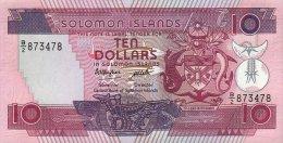 Solomon Islands 10 Dollars 1986 Pick 15 UNC - Salomons
