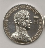 MEDAILLE LES PRINCES DE MONACO  3  HONORE V  1778 - Royal / Of Nobility