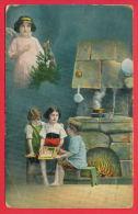 157797 / Angel , Ange , Engel , TREE CHRISTMAS , KITCHEN CHILDRENS BOOK - 437/1 ROUSSE Bulgaria Bulgarie Bulgarien - Angeles
