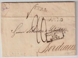 Hamburg, 1819, Ausland-Brief,  #1004 - Hamburg