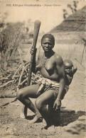 AFRIQUE ACCIDENTALE : FEMME CERERE ( Scarifiée ) . SEINS NUS . COLLECTION GENERALE FORTIER . DAKAR . - Afrique Du Sud, Est, Ouest