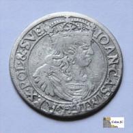 Polonia - 6 Groschen - 1660 - Polonia