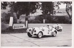 Auto-und Motorradrennen, Verunglückter Rennwagen; 3 Karten - Passenger Cars