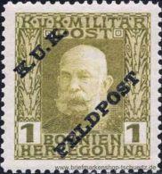 �sterreich 1915, Mi. Feldpost 1 **