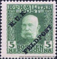 �sterreich 1915, Mi. Feldpost 4 **