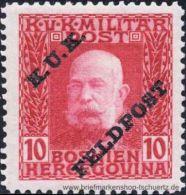 �sterreich 1915, Mi. Feldpost 6 **