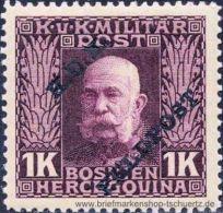 �sterreich 1915, Mi. Feldpost 17 **