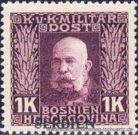 �sterreich 1914, Mi. Feldpost Serbien 17 *