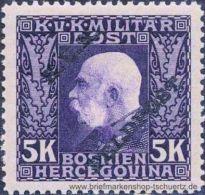 �sterreich 1915, Mi. Feldpost 20 **