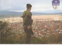 Beobachtungsposten  Auge  Der  Taskforce Prizren - Manovre