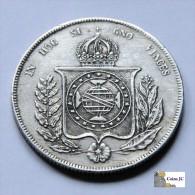 Brasil - 1000 Reis - 1859 - Brasil