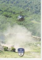 Landeanflug  Bell  UH-1D Auf Der  Festung  Kalaja - Manovre