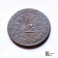 México - Chihuahua - 5 Centavos - 1915 - México