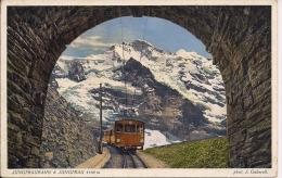 SUISSE  JUNGFRAUBAHN  Fp  Train - BE Berne