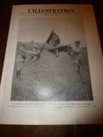 1917 ;Grde Photo PETAIN; BELGIQUE ;Les 13 Enfants De La Famille Junot à Molosmes;S-marin à Wissant;CORNILLET (impt Doc - L'Illustration