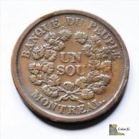 Canadá - 1 Sou - 1838 - Canada