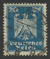 Germany, 20 Pf. 1924, Sc # 333, Mi # 358, Used, Gorlitz - Germany