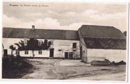 Vergnies Centre Du Village Vieille Voiture Bon état éditeur Laffineur Gillion Cafe Epicerie Mercerie - Froidchapelle