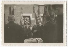 Foto/Photo. Enterrement O.Van De Putte. Gand 1946. Drapeaux. - Places