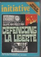 INITIATIVE NATIONALE 07/09 1977 - POLITIQUE EXTREME DROITE PFN - MICHEL DE SAINT PIERRE - AFRIQUE DU SUD - PUNK - Periódicos